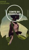 Couverture du livre « Conte de bidonville » de Giosue Calaciura aux éditions Les Allusifs