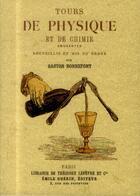 Couverture du livre « Tours de physique et de chimie amusantes » de Gaston Bonnefont aux éditions Maxtor