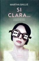 Couverture du livre « Clara(s) et l'ascenseur à voix » de Martha Baillie aux éditions Jacqueline Chambon