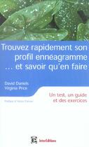Couverture du livre « Trouver Rapidement Son Profil Enneagramme... Et Savoir Qu'En Faire ; Un Test, Un Guide Et Des Exercices » de David Daniels et Virginia Price aux éditions Recto Verseau