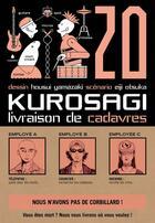 Couverture du livre « Kurosagi ; livraison de cadavres T.20 » de Eiji Otsuka et Housui Yamazaki aux éditions Pika