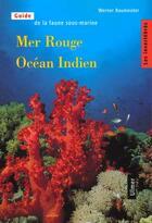 Couverture du livre « Mer rouge ocean indien - les invertebres - tome 1 - vol01 » de Baumeister Werner aux éditions Eugen Ulmer