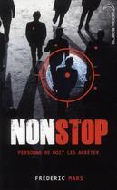 Couverture du livre « Non stop » de Frederic Mars aux éditions Black Moon