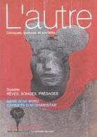 Couverture du livre « Reves, songes, presages revue l autre n10 » de Moro Mr aux éditions Pensee Sauvage