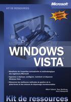Couverture du livre « Windows vista ; kit de ressources techniques » de Northrup et Tulloch aux éditions Microsoft Press