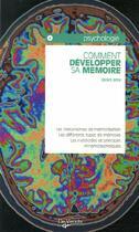 Couverture du livre « Comment développer sa mémoire » de Denis Bon aux éditions De Vecchi