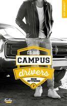 Couverture du livre « Campus drivers T.2 ; bookboyfriend » de C. S. Quill aux éditions Hugo Roman