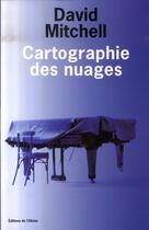 Couverture du livre « Cartographie des nuages » de David Mitchell aux éditions Editions De L'olivier