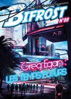 Couverture du livre « REVUE BIFROST N.88 ; dossier Greg Egan » de Revue Bifrost aux éditions Le Belial