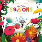 Couverture du livre « Les p'tites saisons ; météorologie » de Francoise Laurent et Chiara Dattola aux éditions Ricochet