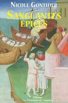 Couverture du livre « Sanglantes épices » de Nicole Gonthier aux éditions Les Passionnes De Bouquins