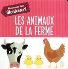 Couverture du livre « Mon premier livre des animaux de la ferme » de Piroddi/Baruzzi aux éditions Hachette Enfants