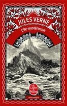 Couverture du livre « L'ile mysterieuse » de Jules Verne aux éditions Lgf