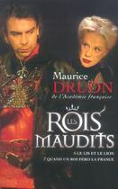 Couverture du livre « Les rois maudits ; t.6 ; le lis et le lion ; t.7 ; quand un roi perd la France » de Maurice Druon aux éditions Plon
