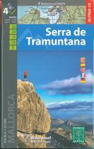 Couverture du livre « Serra de tramuntana (4 cartes) » de  aux éditions Alpina