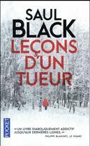 Couverture du livre « Leçons d'un tueur » de Saul Black aux éditions Pocket