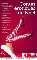 Couverture du livre « Contes érotiques de Noël » de Collectif aux éditions La Musardine