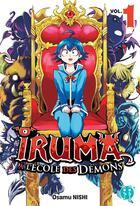 Couverture du livre « Iruma à l'école des démons T.1 » de Osamu Nishi aux éditions Nobi Nobi