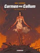 Couverture du livre « Carmen Mc Callum ; INTEGRALE VOL.0. » de Fred Duval et Didier Cassegrain aux éditions Delcourt