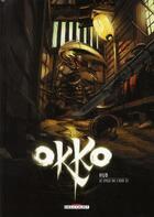 Couverture du livre « Okko T.6 ; le cycle de l'air t.2 » de Hub aux éditions Delcourt
