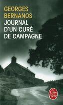Couverture du livre « Journal d'un curé de campagne » de Georges Bernanos aux éditions Lgf