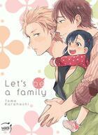 Couverture du livre « Let's be a family » de Tomo Kurahashi aux éditions Taifu Comics