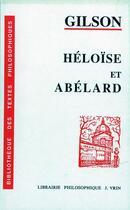 Couverture du livre « Héloïse et Abélard » de Etienne Gilson aux éditions Vrin