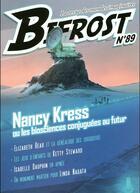 Couverture du livre « REVUE BIFROST N.89 ; spécial Nancy Kress » de Revue Bifrost aux éditions Le Belial