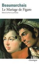 Couverture du livre « Le mariage de Figaro » de Pierre-Augustin Caron De Beaumarchais aux éditions Gallimard