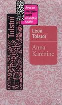 Couverture du livre « Anna Karénine » de Leon Tolstoi aux éditions Gallimard