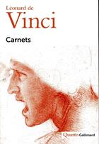 Couverture du livre « Carnets » de Leonard De Vinci aux éditions Gallimard