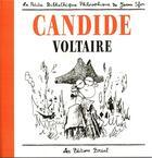 Couverture du livre « La petite collection de Joann Sfar T.2 ; Candide » de Joann Sfar et Voltaire aux éditions Breal