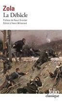 Couverture du livre « La débâcle » de Émile Zola aux éditions Gallimard