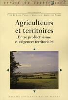 Couverture du livre « Agriculteurs et territoires » de Collectif aux éditions Pu De Rennes