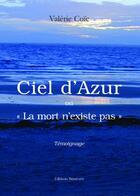 Couverture du livre « Ciel D'Azur » de Coic aux éditions Benevent