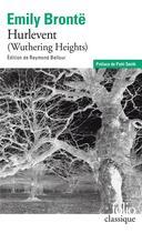 Couverture du livre « Hurlevent » de Emily Bronte aux éditions Gallimard