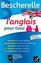 Couverture du livre « L'anglais pour tous » de Wilfrid Rotge et Michele Malavieille aux éditions Hatier