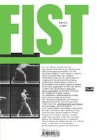 Couverture du livre « Fist » de Marco Vidal aux éditions Zones
