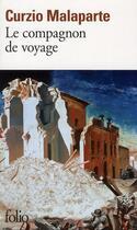 Couverture du livre « Le compagnon de voyage » de Curzio Malaparte aux éditions Gallimard