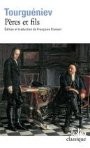 Couverture du livre « Pères et fils » de Ivan Tourgueniev aux éditions Gallimard