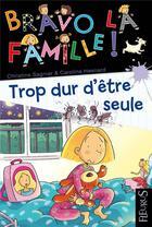 Couverture du livre « Assez d'être seule » de Christine Sagnier et Caroline Hesnard aux éditions Fleurus