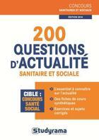 Couverture du livre « 200 questions d'actualité sanitaire et sociale (édition 2014) » de Caroline Binet aux éditions Studyrama
