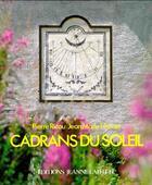 Couverture du livre « Cadrans du soleil » de Ricou aux éditions Jeanne Laffitte