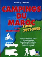 Couverture du livre « Campings du Maroc et de la Mauritanie (édition 2007-2008) » de Jacques Gandini et Emile Verhooste aux éditions Serre