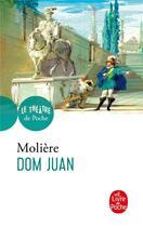 Couverture du livre « Dom Juan » de Moliere aux éditions Lgf