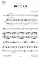 Couverture du livre « Boléro » de Jacques Offenbach aux éditions Francois Dhalmann