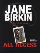 Couverture du livre « Photos détournées » de Jane Birkin aux éditions Rocher