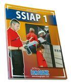 Couverture du livre « SSIAP 1 ; service de sécurité incendie et d'assistance à personnes ; agent de service (SSIAP1-03) » de Collectif aux éditions Icone Graphic