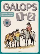Couverture du livre « Galops 1 et 2 » de Collectif aux éditions Vigot