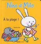 Couverture du livre « À la plage ! » de Pauline Oud aux éditions Mango